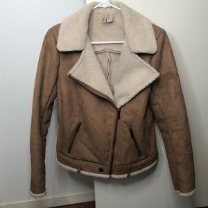 Forever21 Faux Shearling Jacket